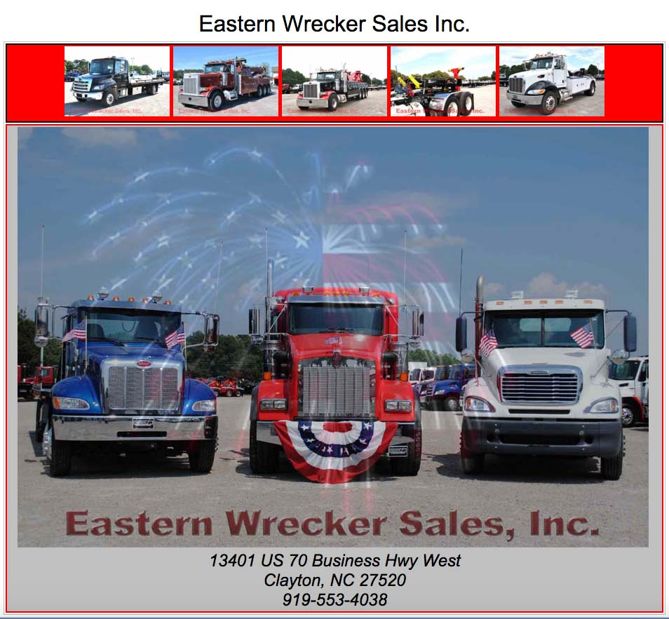 Eastern wrecker sales autos post for Gem city motors sidney mt