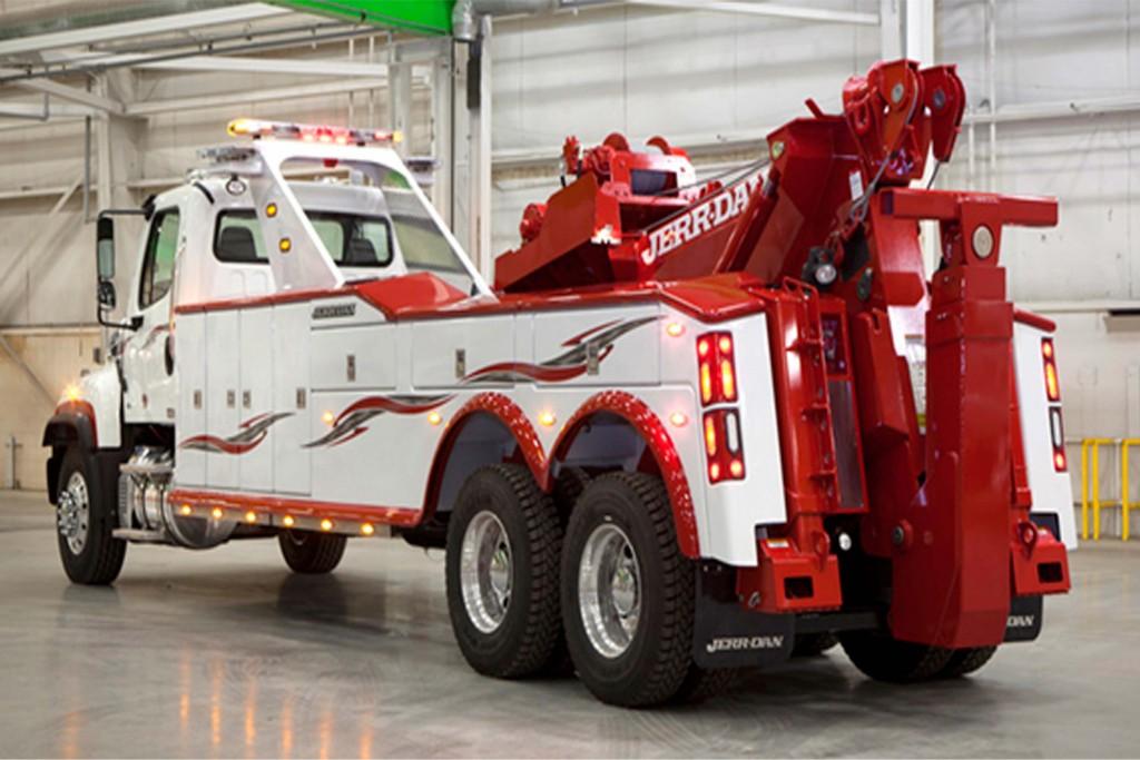 Jerr-Dan 25 Ton Integrated Heavy Duty Wrecker Composite ...