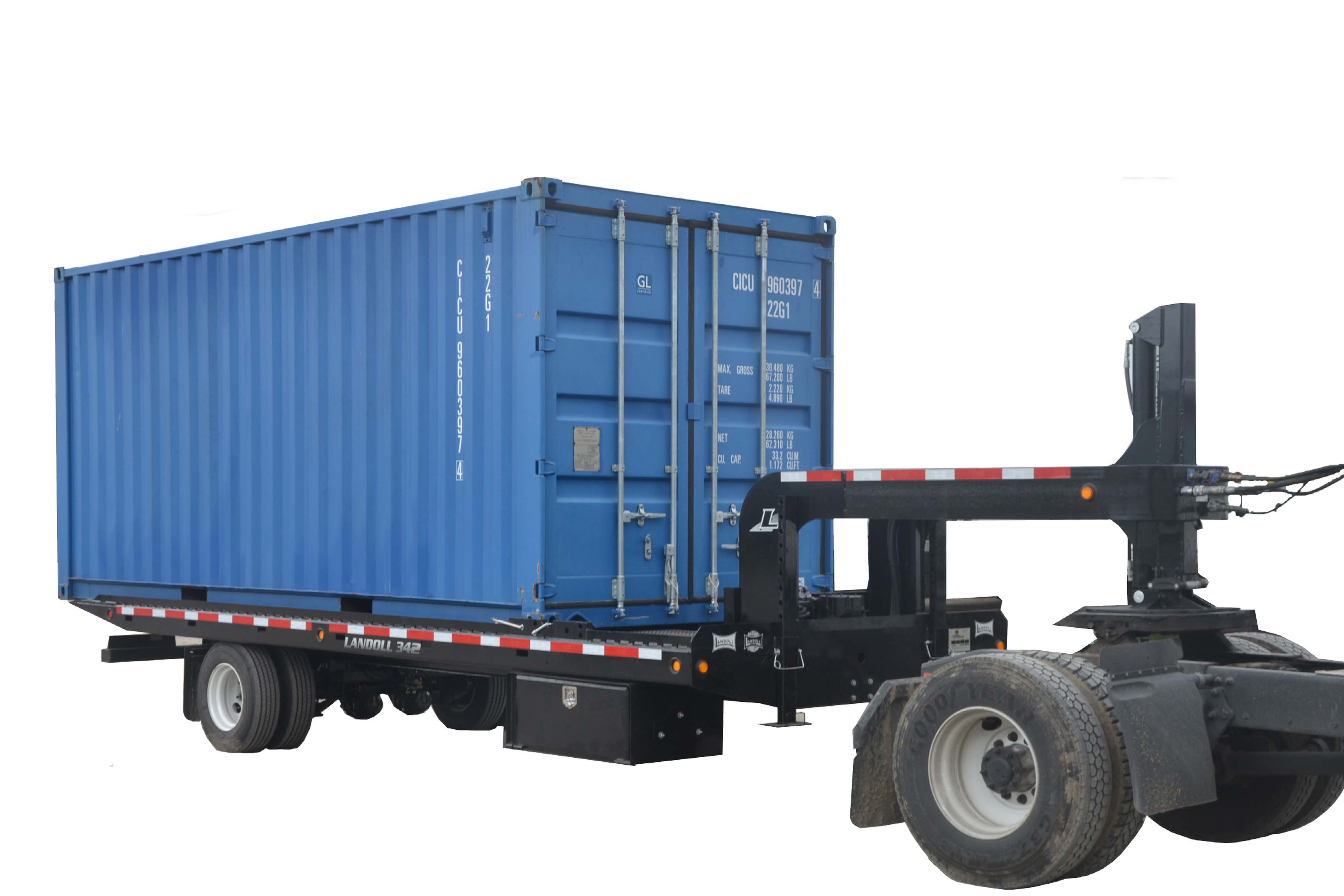 Car Carrier For Sale >> Landoll Model 342 Container Trailer | Eastern Wrecker Sales Inc