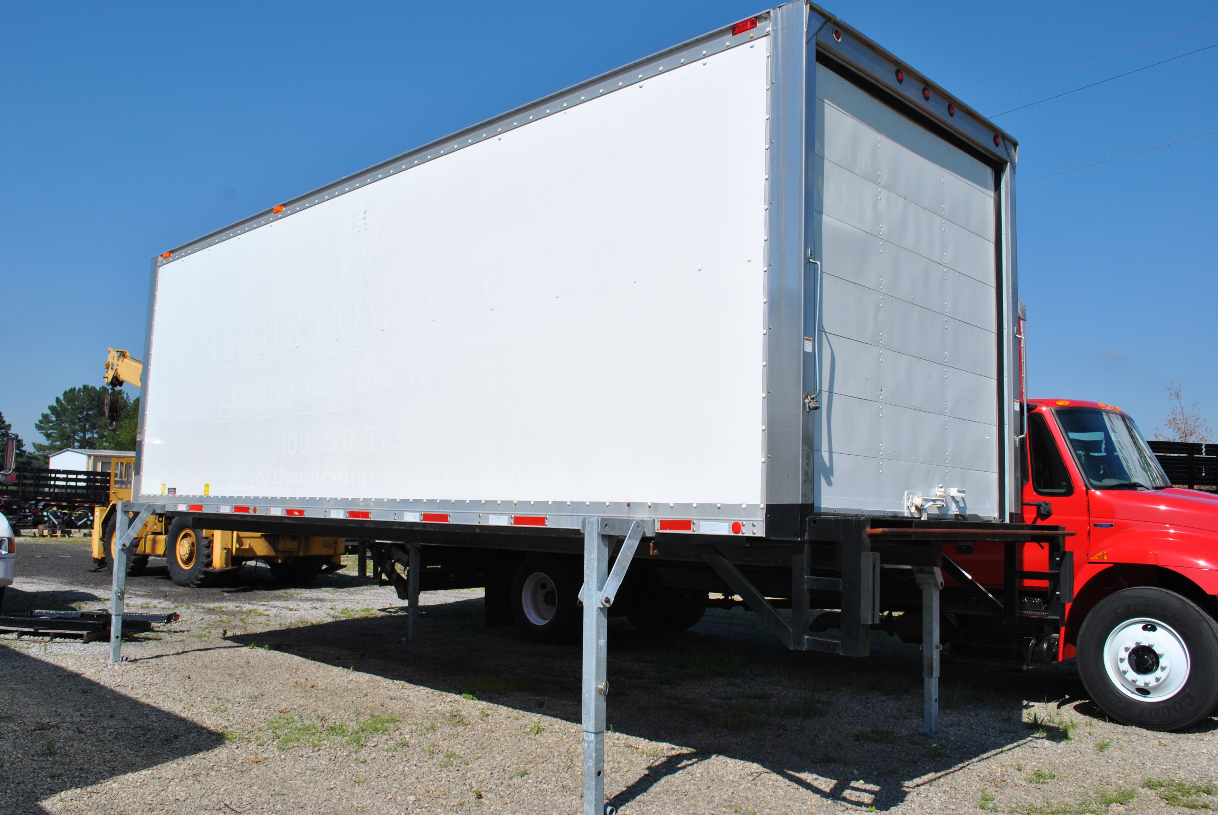 2008 Peterbilt 335 With Three Removable Bodies Eastern