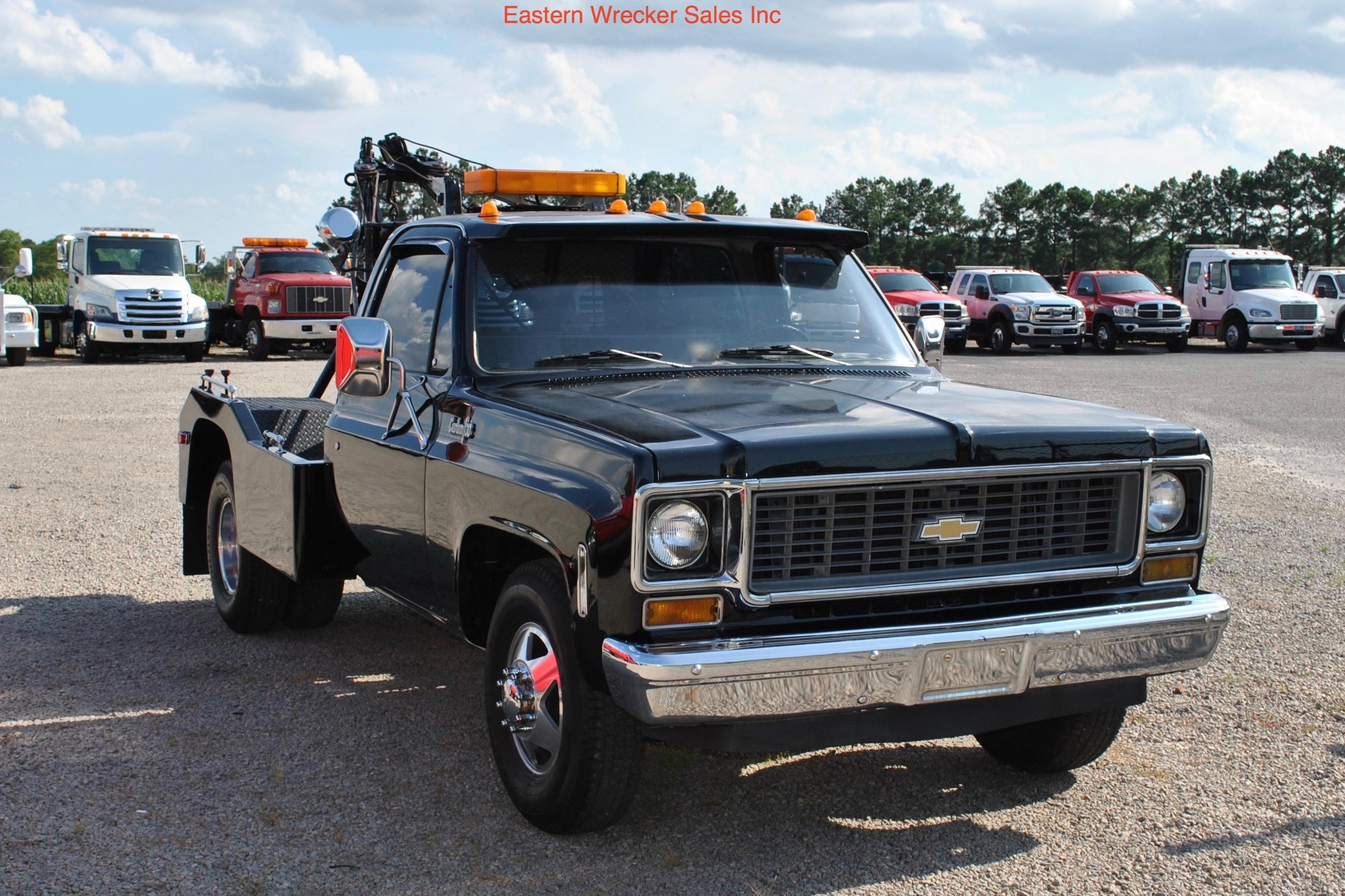 1974 chevrolet c30 with holmes 480 collector 39 s item for Used tow motors for sale
