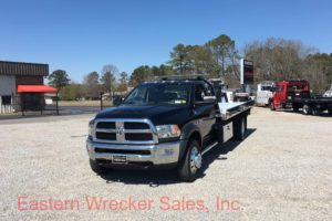 2017 Dodge 5500 with a Jerr Dan 19' Aluminum Carrier - Flat Bed, Tow Truck, Towing, Recovery, Transport.