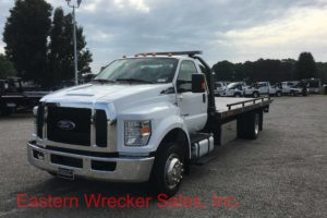 2017 Ford F650 Jerr Dan Tow Truck For Sale - Car Carrier Flatbed. Towing, Recovery, Transport.