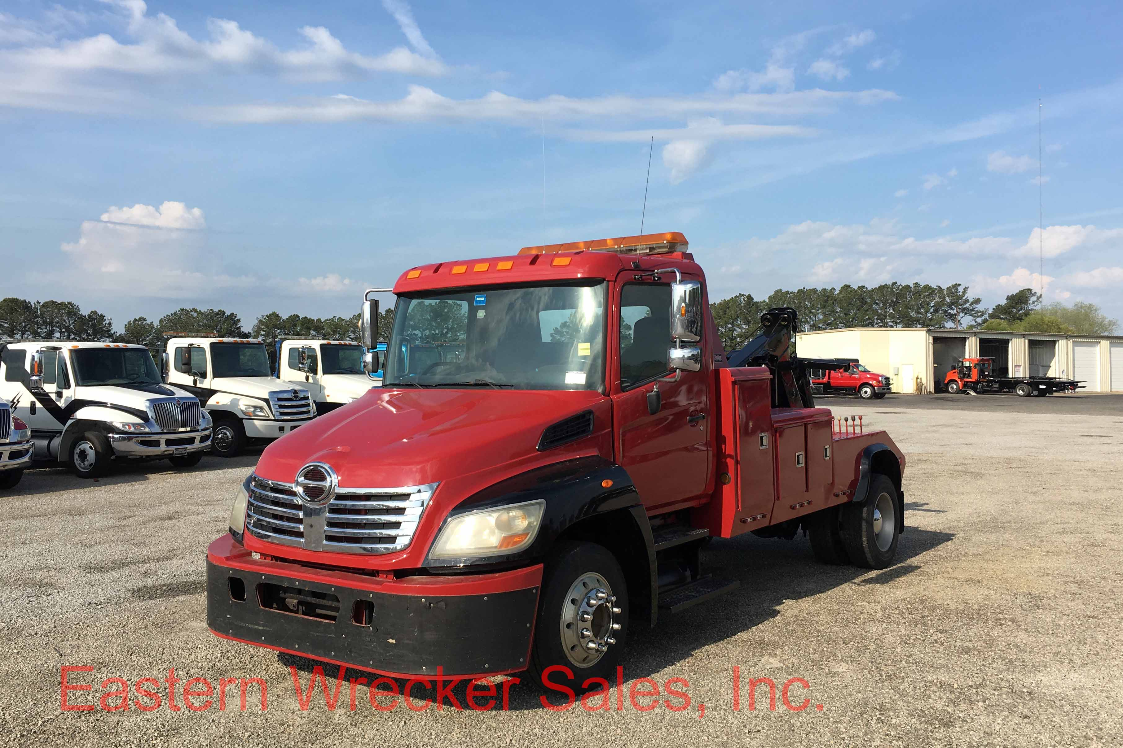 2008 hino with a century eb4 wrecker eastern wrecker for Used tow motors for sale