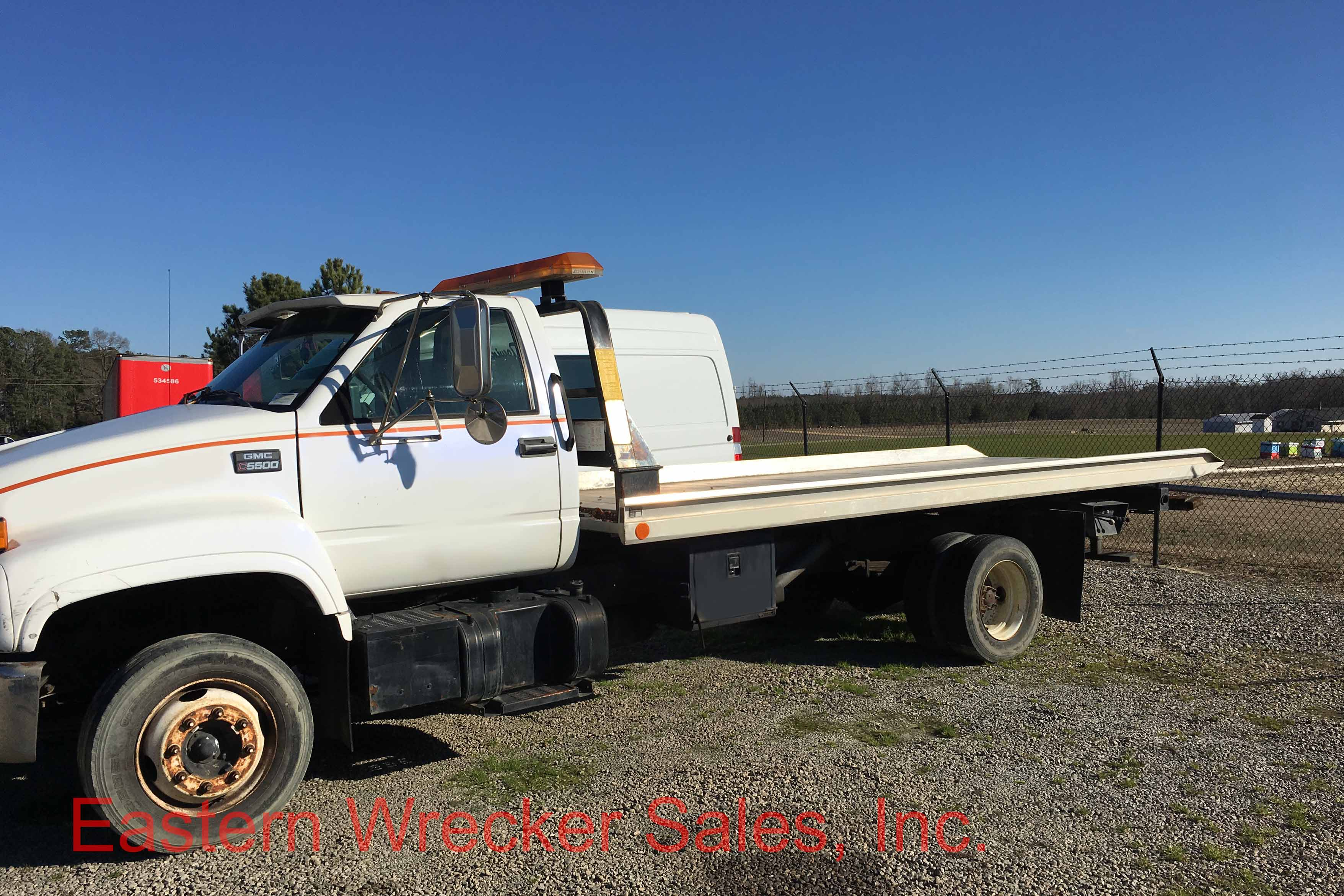 1997 GMC TopKick C5500 with a Jerr Dan 19′ Aluminum Carrier – Engine Needs  Rebuilding