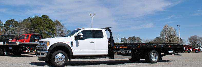 F550 Extended Cab with Jerr-Dan Carrier