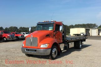 2018 Kenworth T270 with a Jerr Dan Steel Car Carrier Tow Truck for Sale - Towing, Recovery, Transport