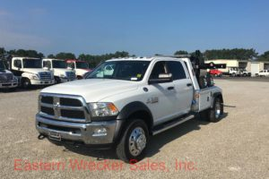 2017 Dodge Ram Quad Cab 5500 with a Jerr Dan MPL40 Tow Truck For Sale. Wrecker, Towing, Recovery.