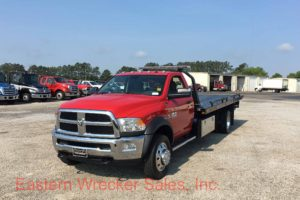 2017 Dodge 5500 Jerr Dan Car Carrier Tow Truck for Sale. Flatbed for Towing, Recovery, and Transport.