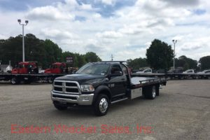 2017 Dodge 5500 Jerr Dan Steel Car Carrier Tow Truck For Sale - Towing, Recovery, Transport.