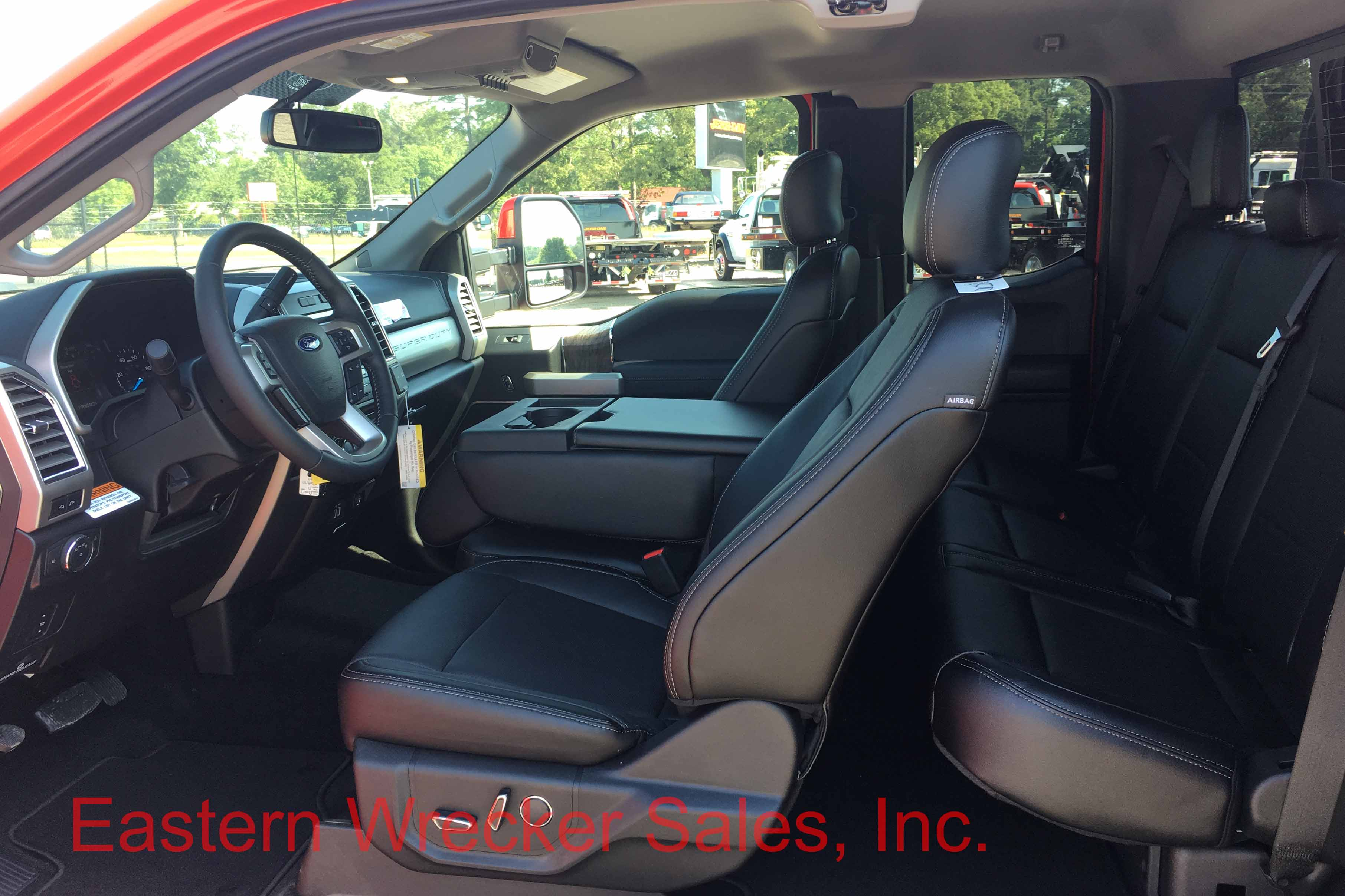 f4553 interior ford jerrdan tow truck for sale car carrier