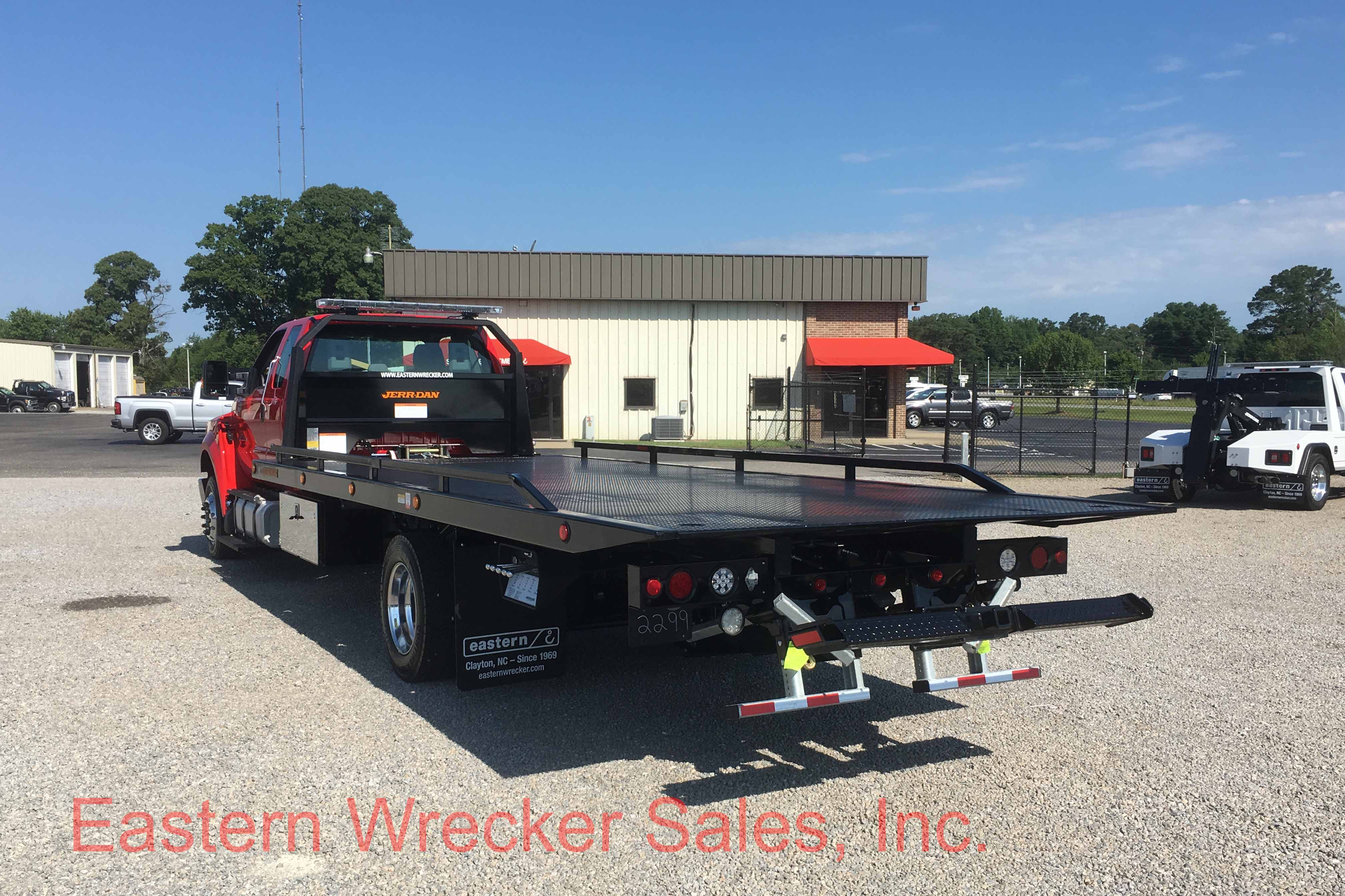 F Rear Ds Ford F Tow Truck For Sale Jerr Dan Carrier Flatbed Towing on Used Extended Cab Rollback Wreckers Sale