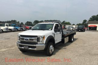 2017 Ford F550 with a Jerr Dan Car Carrier Tow Truck For Sale. Towing, Recovery, Transport, Flatbed.