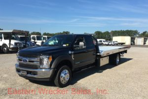 2017 Ford F550 Extended Cab with a Jerr Dan Car Carrier Tow Truck / Flatbed. Towing, Recovery, Transport.