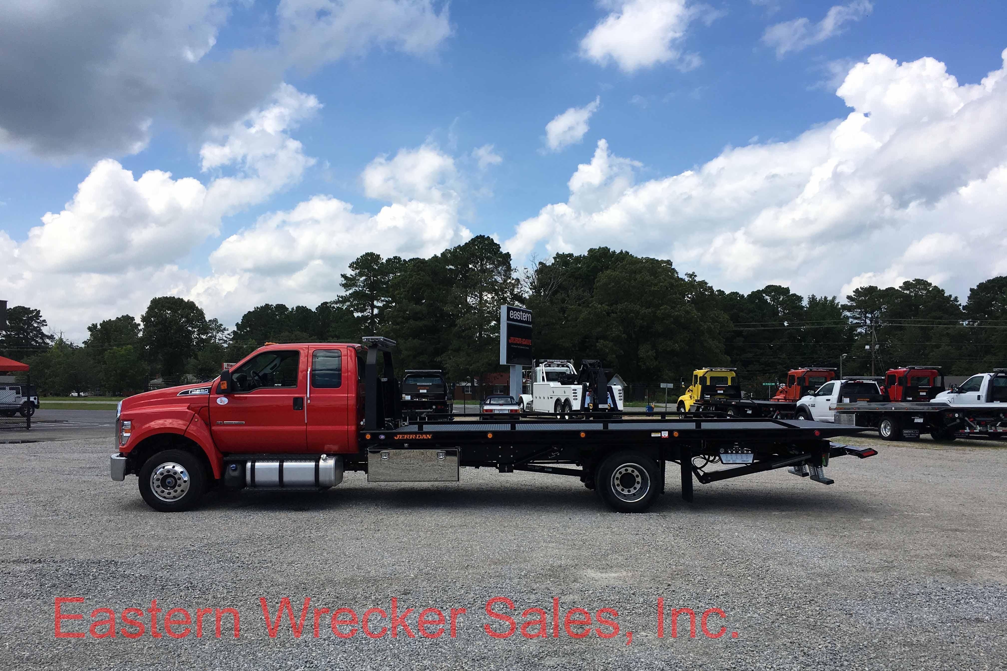 f6888 side ds 2017 ford f650 tow truck for sale jerr dan car carrier flatbed jerr dan landoll. Black Bedroom Furniture Sets. Home Design Ideas