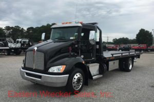 2018 Kenworth T270 Tow Truck For Sale - Jerr Dan Car Carrier Flatbed. Towing, Recovery, Transport.