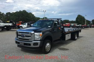 2016 Ford F550 Tow Truck For Sale - Jerr Dan Car Carrier Flatbed. Towing, Recovery, Transport.