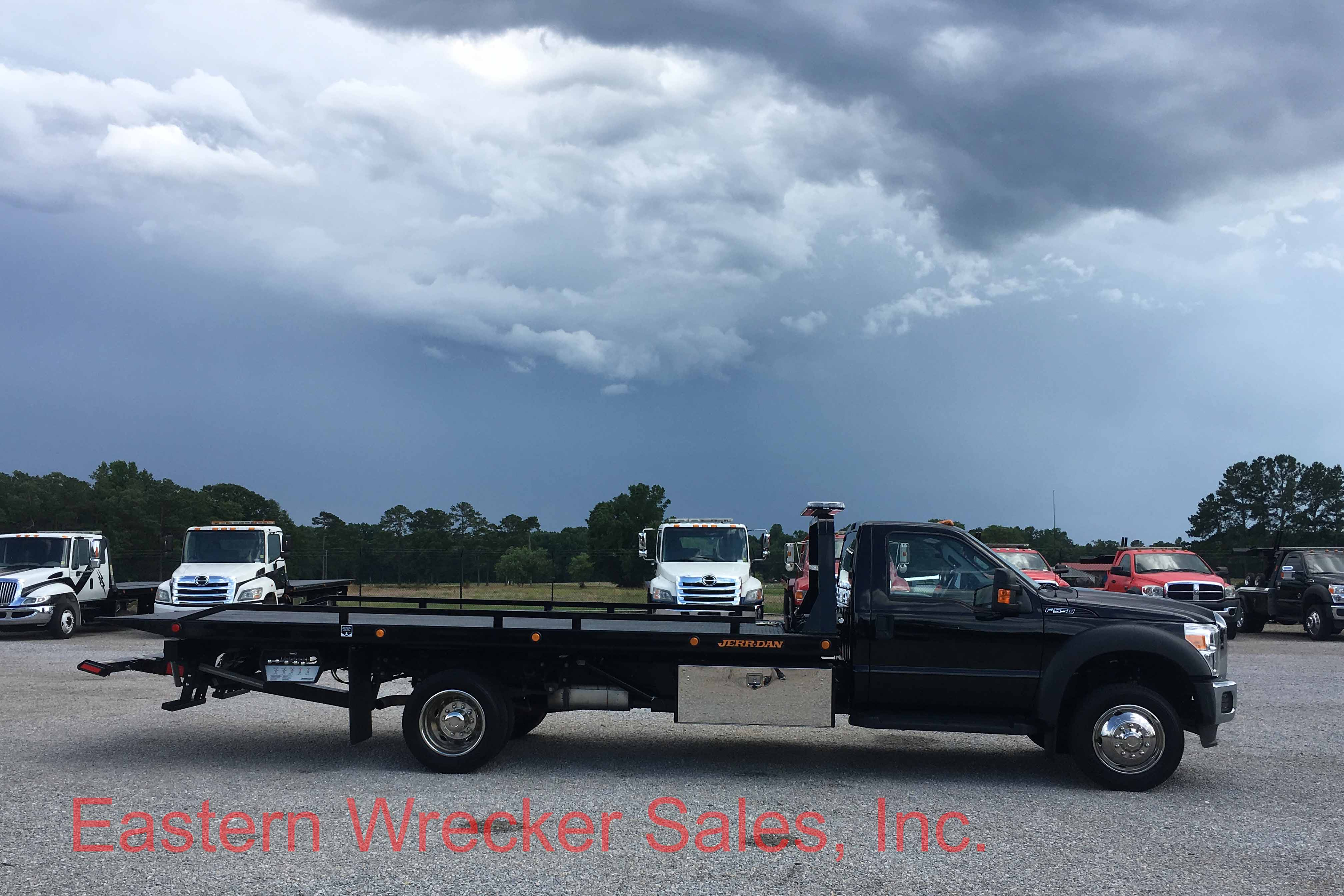 2016 Ford F550 With Jerr Dan 19 39 Steel 6 Ton Carrier