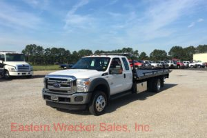 2016 Ford F550 Extended Cab Tow Truck For Sale - Jerr Dan Car Carrier Flatbed. Towing, Recovery, Transport.