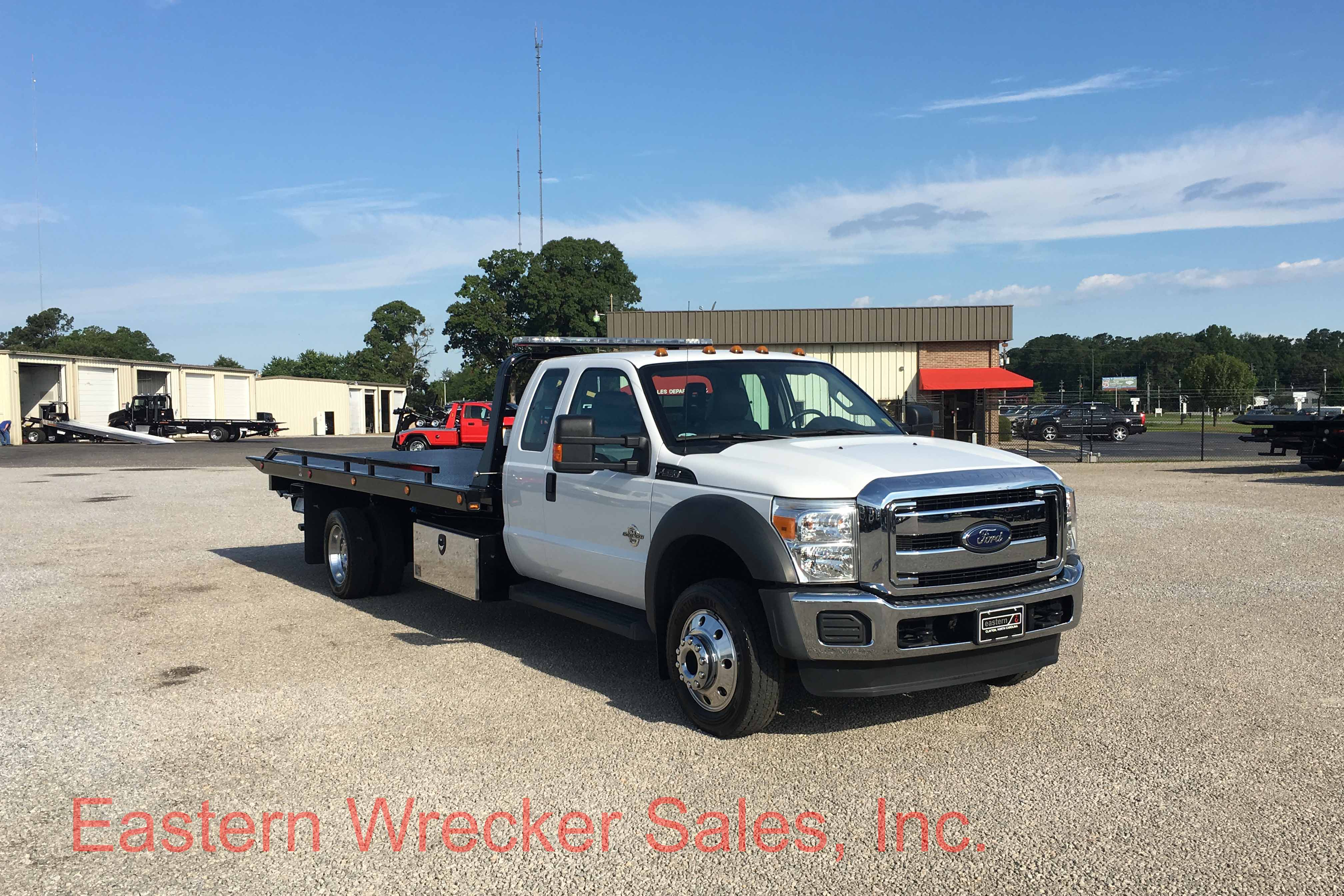 U Front Ps Ford F Jerr Dan Tow Truck Car Carrier on Used Extended Cab Rollback Wreckers Sale