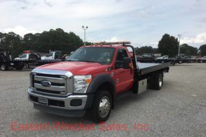 2011 Ford F550 Tow Truck For Sale - Jerr Dan Steel Carrier Flatbed. Towing, Recovery, Transport.