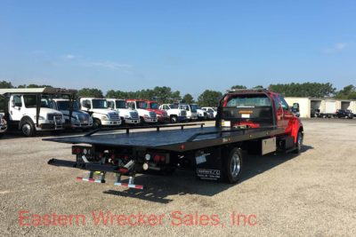 2017 Ford F650 Extended Cab Tow Truck - Jerr Dan Car Carrier Flatbed. Towing, Recovery, Transport.
