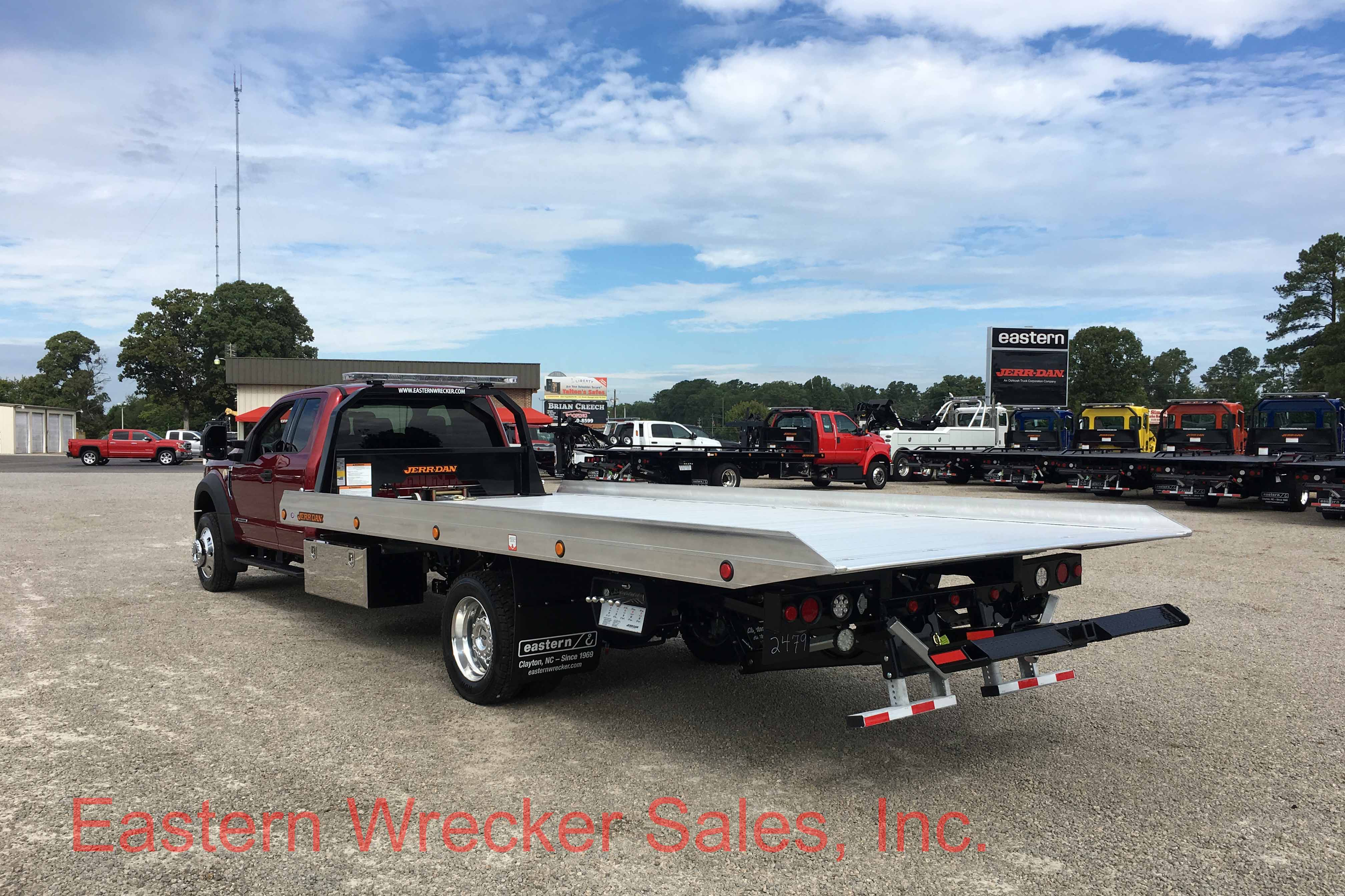 F2909 Rear Ds 2017 Ford F550 Jerr Dan Tow Truck Car Carrier Flatbed 1969 Extended Cab With A Rollback