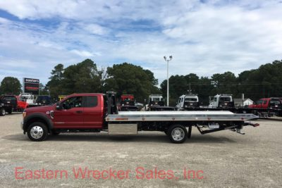 2017 Ford F550 Extended Cab with a Jerr Dan Tow Truck Car Carrier - Flatbed Rollback.