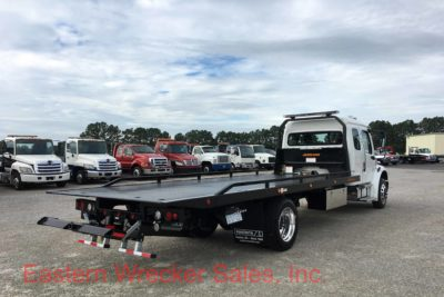 2018 Freightliner M2 Extended Cab Jerr Dan Car Carrier Tow Truck - Flatbed, Towing, Transport