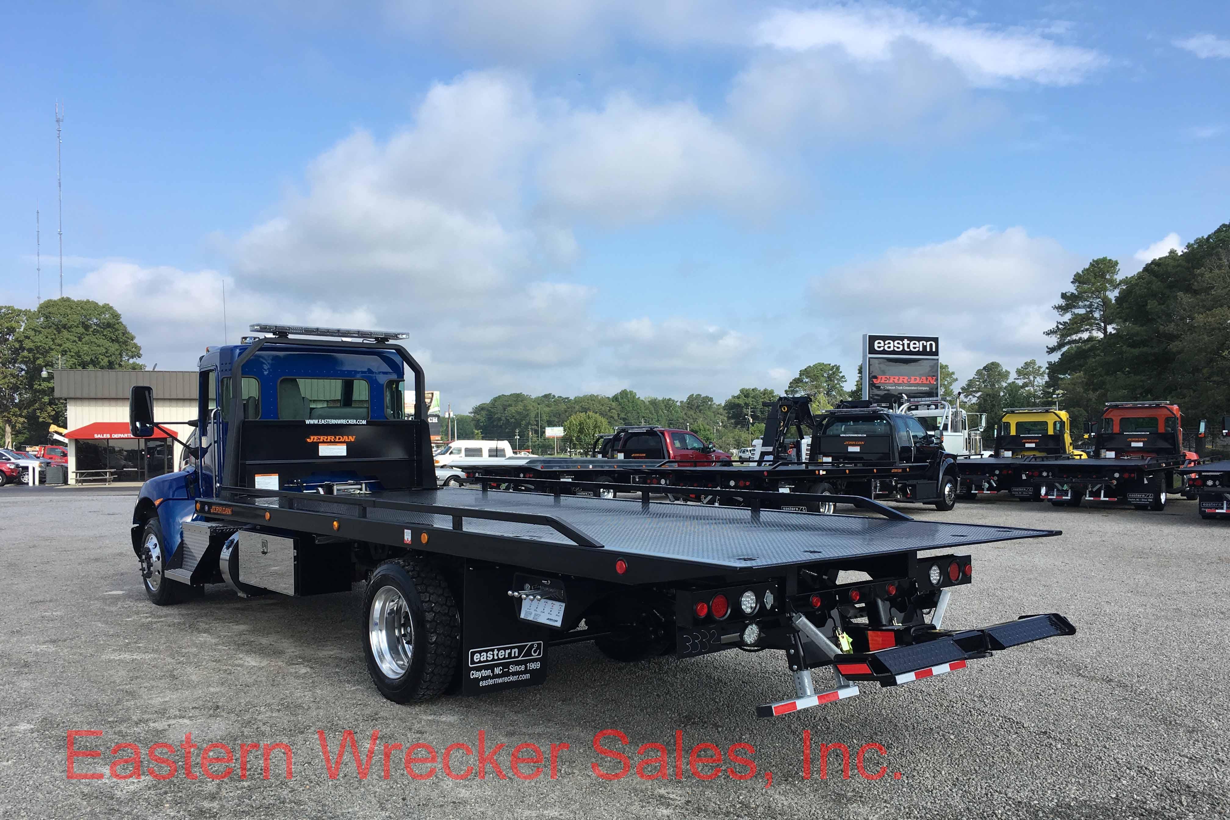 2018 Kenworth T270 With Jerr Dan 22 Steel 6 Ton Low