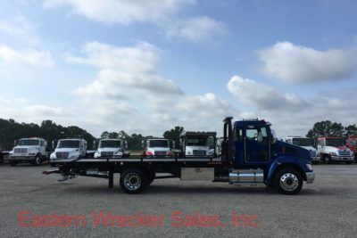 2018 Kenworth T270 Tow Truck for Sale with a Jerr Dan Car Carrier / Flatbed.