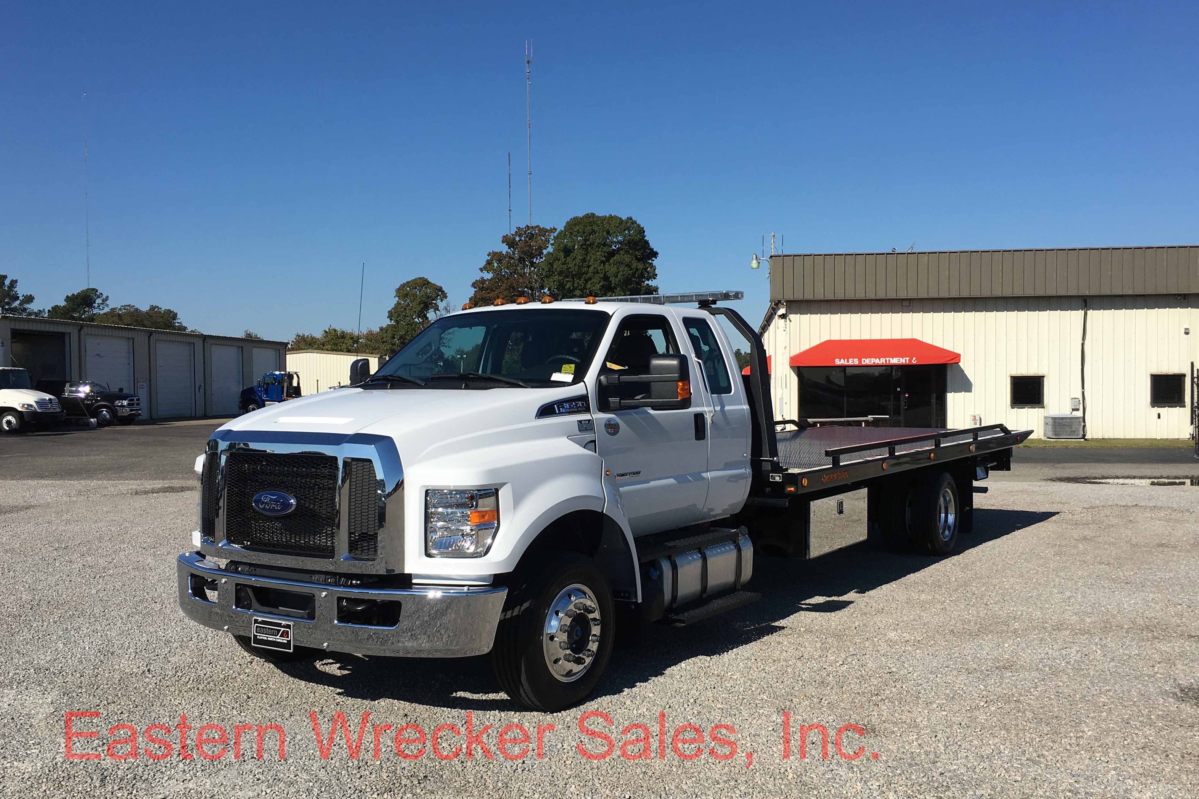F Front Ds Ford F Tow Truck For Sale Jerr Dan Carrier on Used Extended Cab Rollback Wreckers Sale