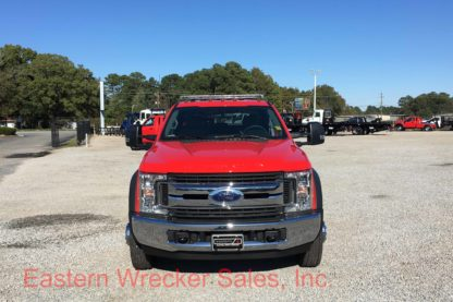 2017 Ford F550 Extended Cab Tow Truck For Sale - Jerr Dan Flatbed Car Carrier.