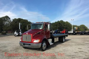 2015 Kenworth Used Tow Truck Jerr Dan Car Carrier
