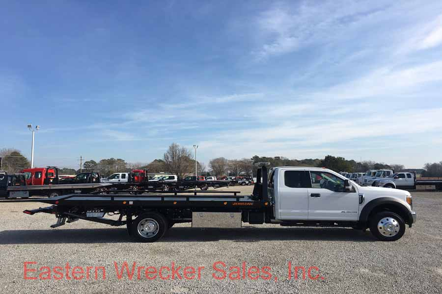 F Ford F Tow Truck For Sale Jerr Dan Carrier Rollback Flatbed on Used Extended Cab Rollback Wreckers Sale
