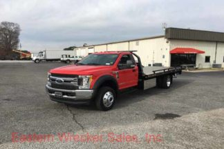 2017 Ford F550 Tow Truck For Sale Jerr Dan Car Carrier Rollback Flatbed.