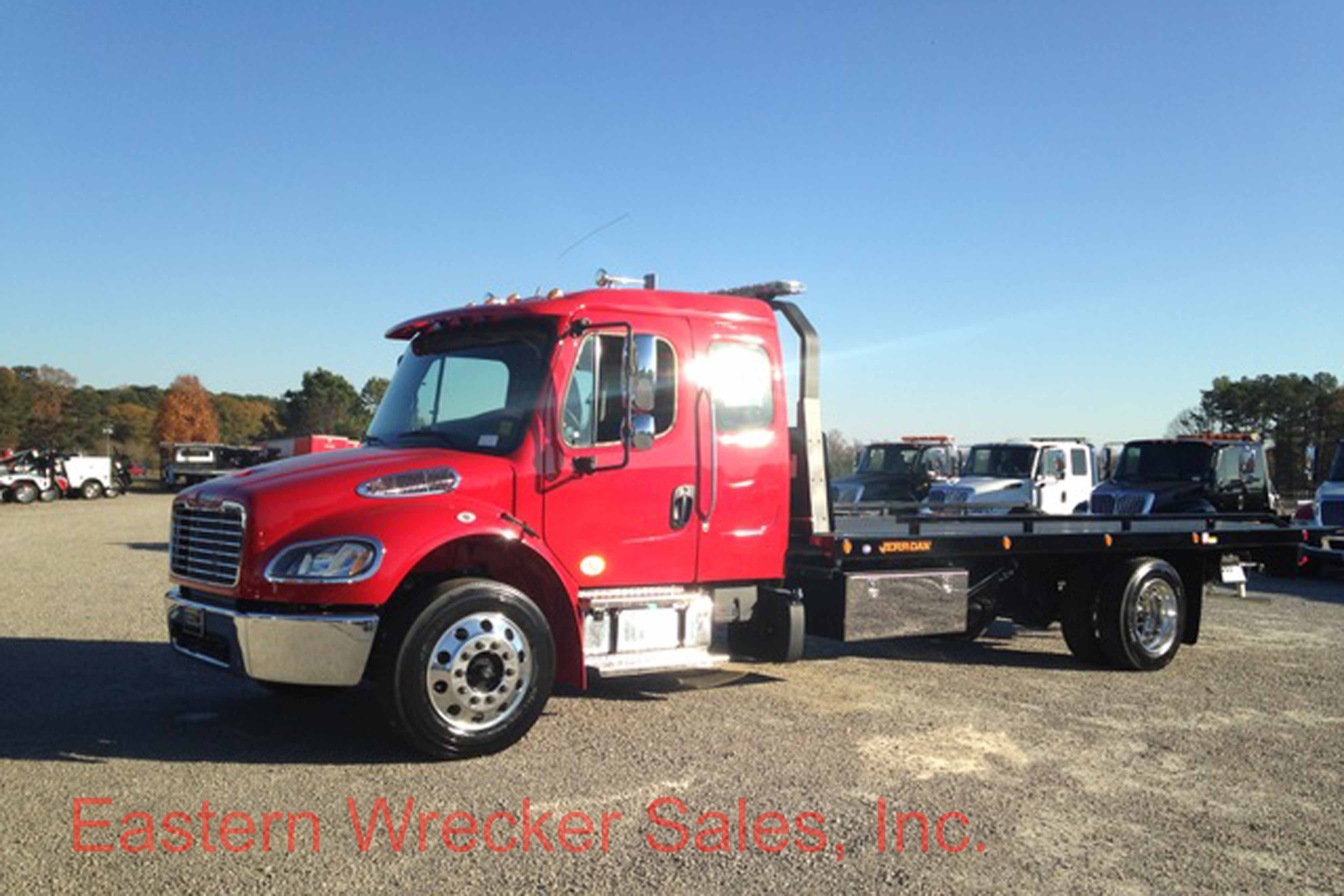 2018 Freightliner M2 Extended Cab With A Jerr Dan 22