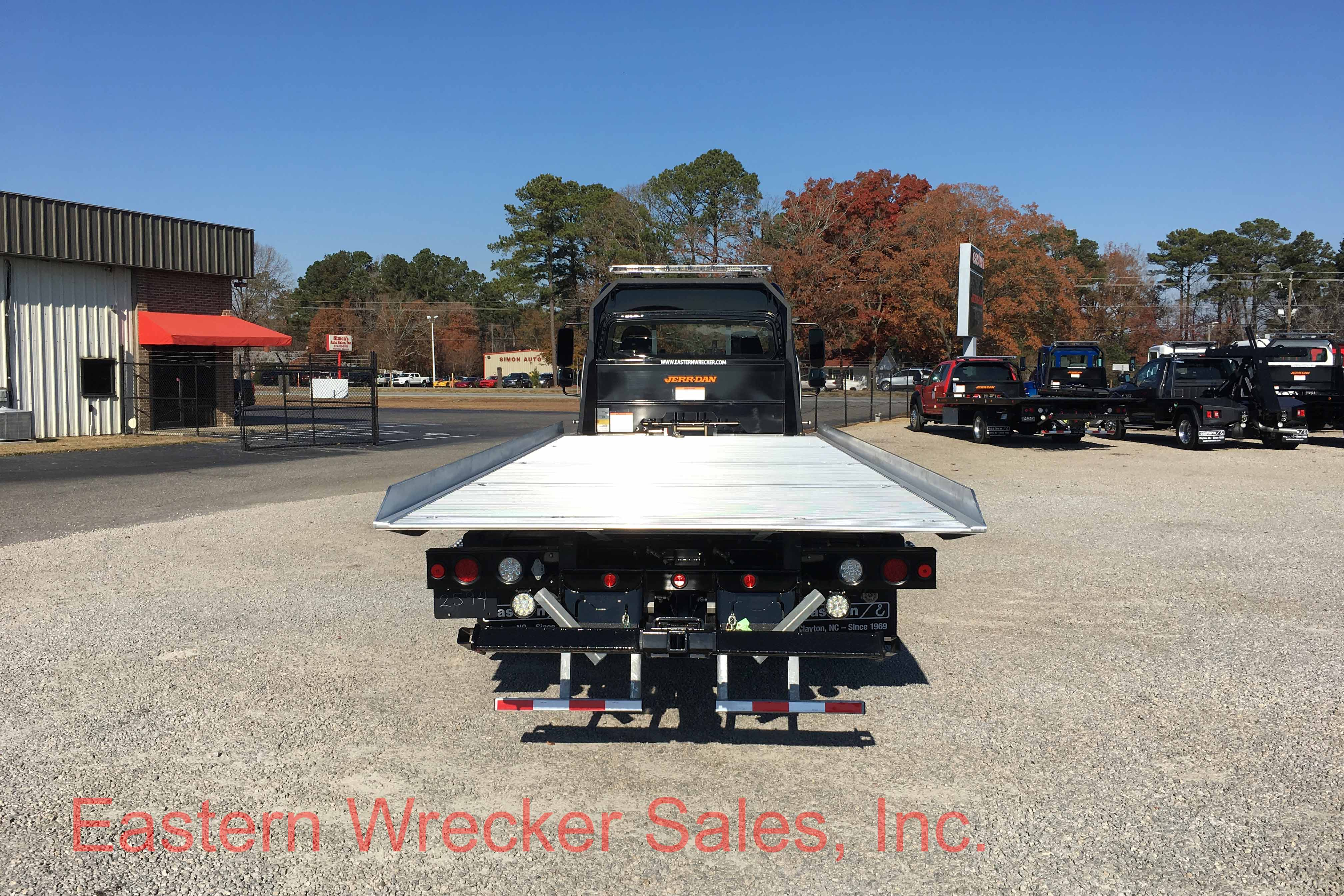 F Rear Freightliner Tow Truck For Sale Extended Cab Jerr Dan Aluminum Car Carrier Rollback on Used Extended Cab Rollback Wreckers Sale