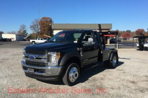 2017 Ford F450 4x4 XLT tow truck for sale with a Jerr Dan MPL NGS Wrecker.