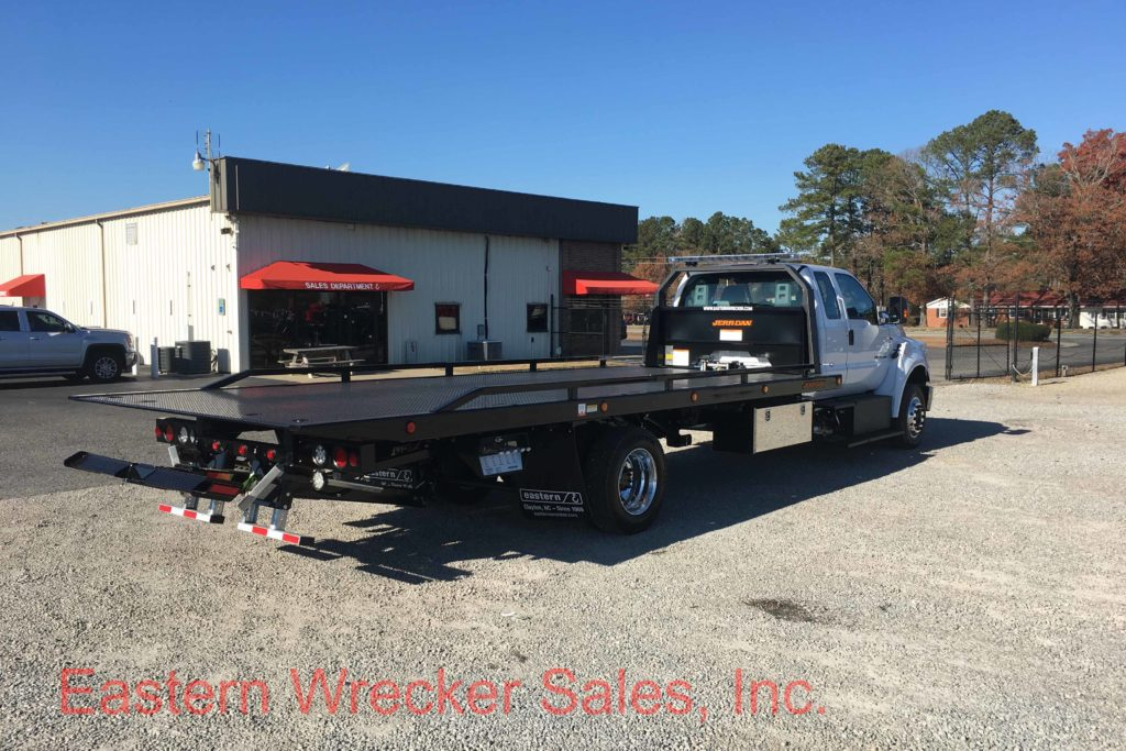 F Rear Ps Ford F Tow Truck Jerr Dan Steel Carrier Rollback X on Used Extended Cab Rollback Wreckers Sale