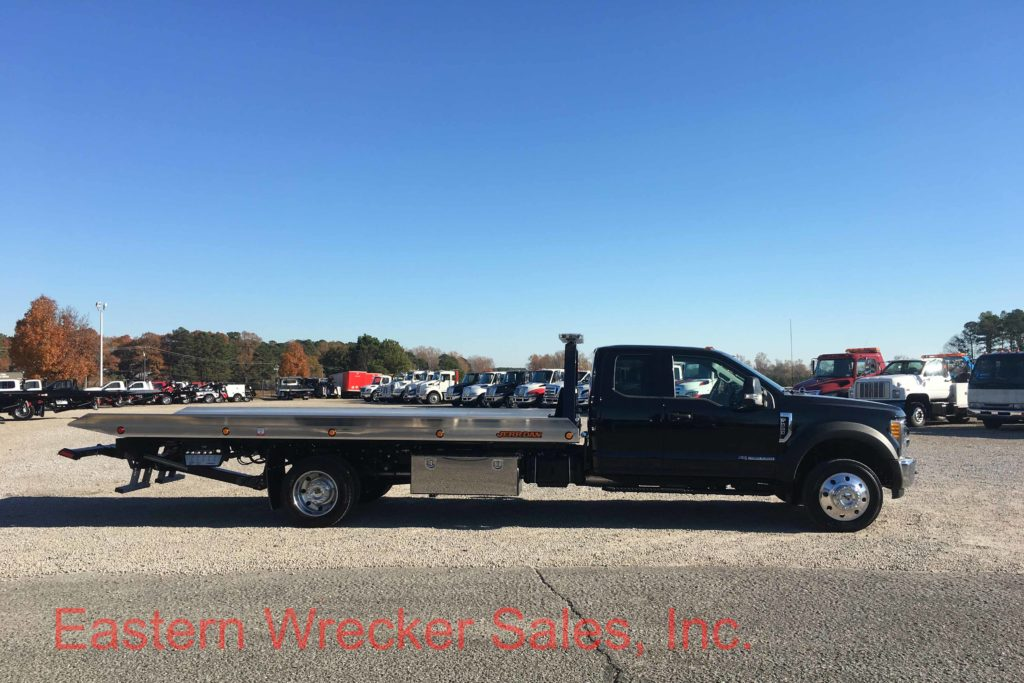 F Side Pst Ford F Extended Cab Jerr Dan Carrier Aluminum Tow Truck For Sale Rollback X on Used Extended Cab Rollback Wreckers Sale