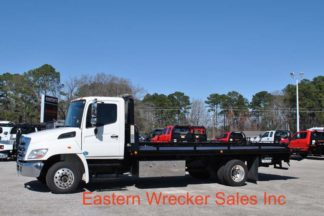 2012 Hino 258LP with 21' Jerr-Dan RRSB Steel Carrier, Stock #U1005A