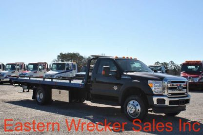 2016 Ford F550 with 20' Jerr-Dan Carrier, Stock #U7890