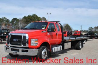 2018 Ford F650 Ext Cab with 22' Jerr-Dan Srr6T-WLP Steel Carrier