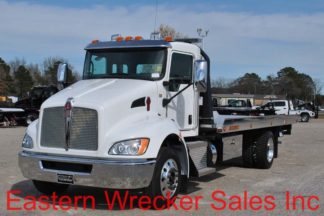 2019 Kenworth T270 with 22' Jerr-Dan NGAF6T-WLP Aluminum Carrier