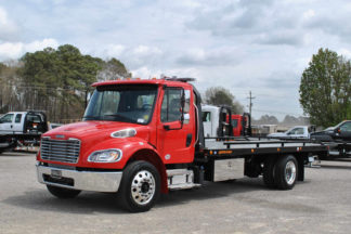 2018 Freightliner M6 102 Regular Cab with 22' Jerr-Dan SRR6T-WLP Steel Carrier, Stock #F6052A