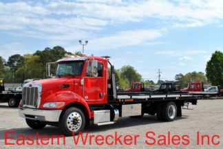 2019 Peterbilt 337 with 22' Jerr-Dan SRR6T-WLP Steel Carrier, Stock #P9302