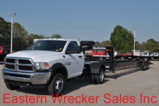 2016 Dodge Ram 5500, Stock #U8275; 2018 Appalachian Trailer, Stock #U0212