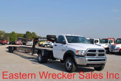 2016 Dodge Ram 5500, Stock #U8275; 2018 Appalachian Trailer, Stock #U0212