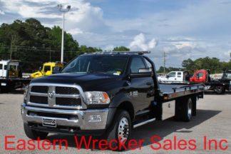 2017 Dodge 5500 with 20ft Jerr-Dan SRR6T-WLP Steel Carrier, Stock #D1770
